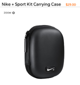 Nike + Sport Kit Carrying Case