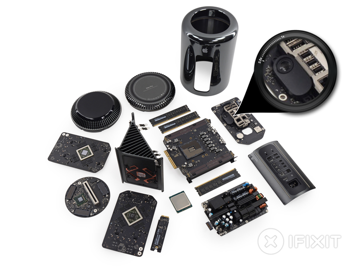 MacPro-Late2013-speaker-iFixit