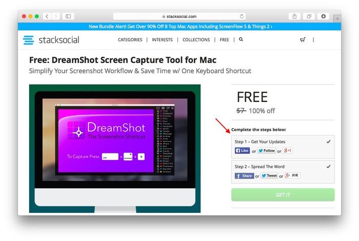 StackSocial-DreamShot-campaign