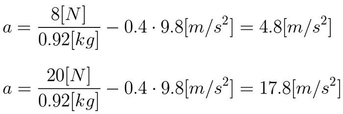MacBookの運動方程式-2-加速度