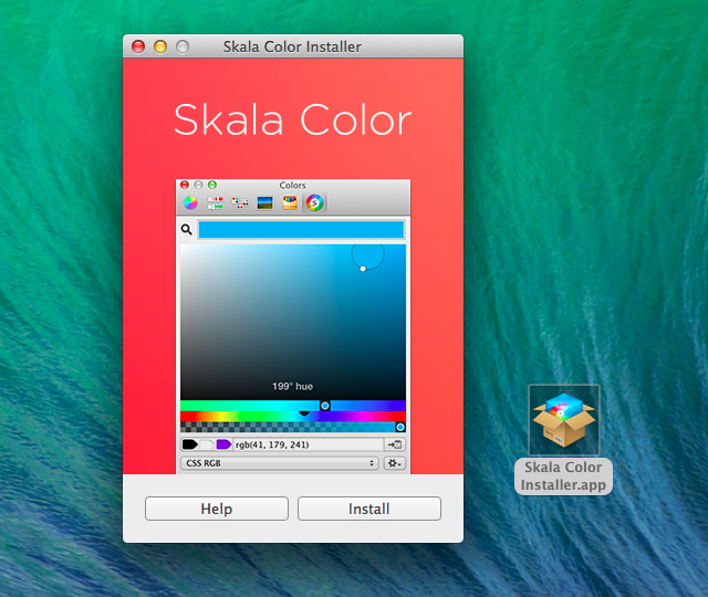 Skala-Color-Install