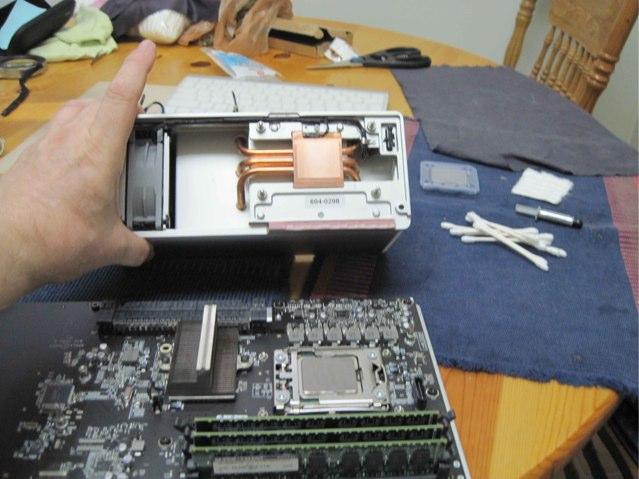 MacProのCPU取替え