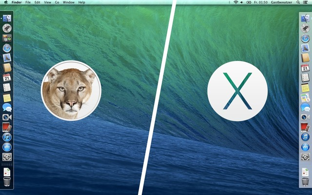 MountainLion-Mavericks-Dock