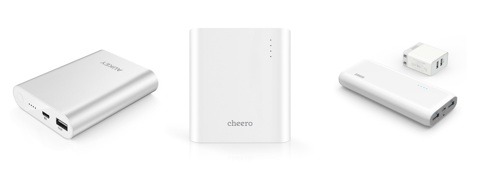 新しい急速充電の規格『Quick Charge 2.0』に対応したモバイルバッテリー。USB端子はひとつだけですが、対応スマホとの組み合わでは従来の急速充電よりもさらに速く  ...