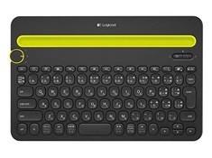 Logicool ロジクール Bluetooth マルチデバイス キーボード (Windows、Mac、Android、iOS対応) K480 ブラック