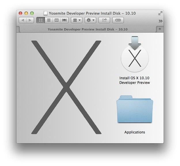 DiskMaker Xで作成したOS X 10.10 Yosemiteのインストールディスク
