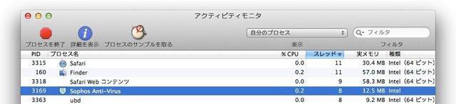 SophosV9は32bit