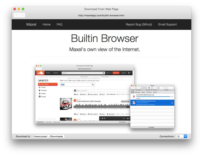 Builtin-Browser-Maxel
