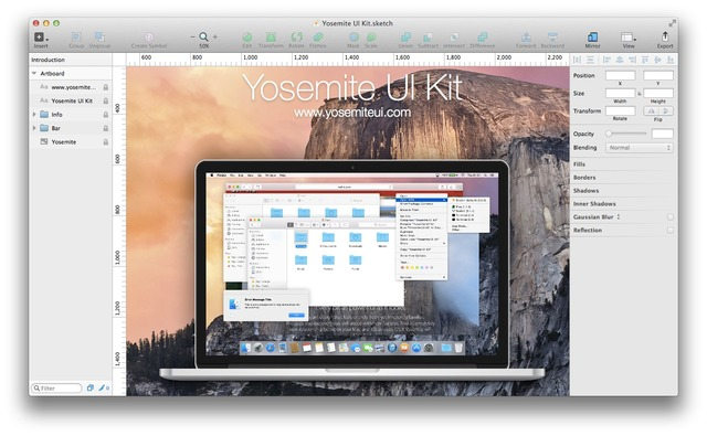 Yosemite-UI-Kit-Hero