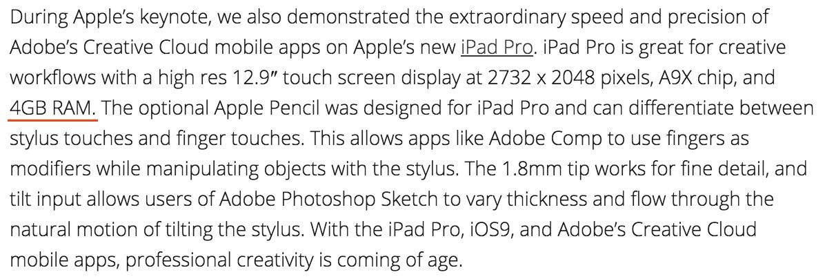 iPad-Pro-4GB-RAM