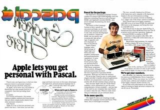 Apple Pascalアイロンプリント広告_Byte誌1979年10月号