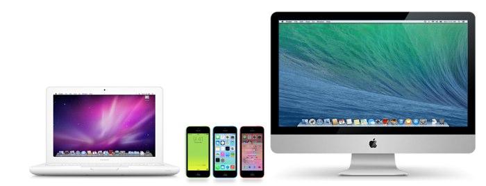 MacBook iPhone 5c iMac Hero