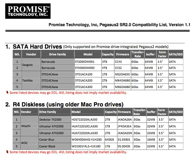 Pegasus2-Diskless-SATA-HDD