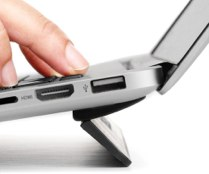Bluelounge Kickflip MacBook Pro用フリップスタンド 13インチ ブラック BLD-KF13-BK