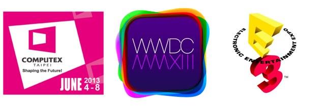 WWDC2013-E3-COMPUTEX