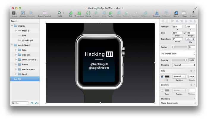 HackingUI-Apple-Watch-Sketch