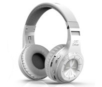 Bluedio HT タービン(狩猟版)Bluetooth 4.1 Bluetoothヘッドセット ヘッドホン イヤホン 初級HIFI オーディオ入力/出力 マイク通話機能搭載 (ホワイト)