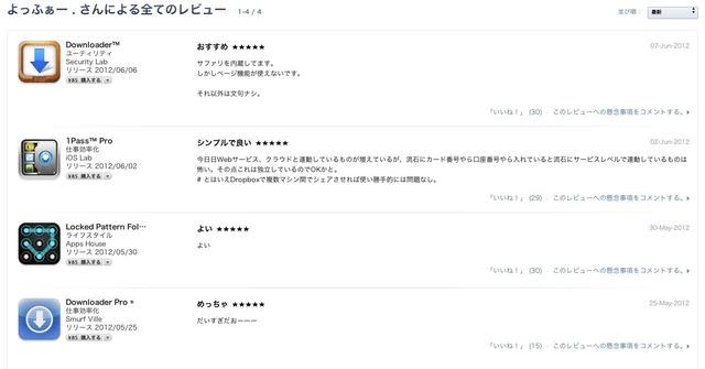 iOSレビュー1