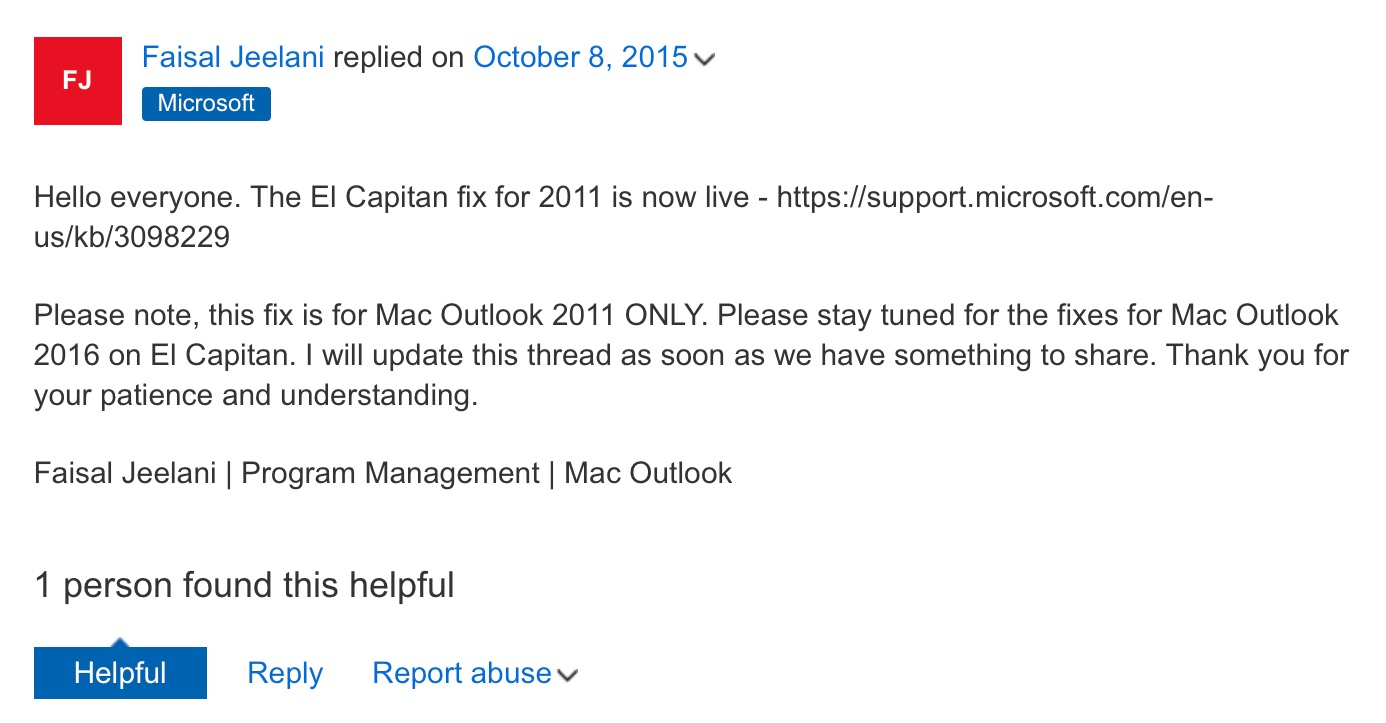 Microsoft-fix-outlook-2011-el-capitan