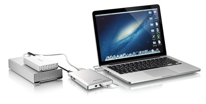 Akitio-Thunderbolt-Dock