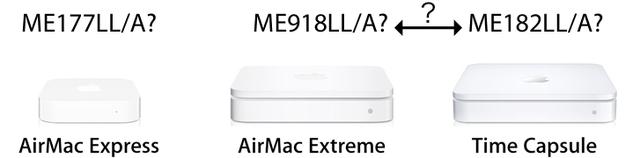 次世代AirMacの型番2