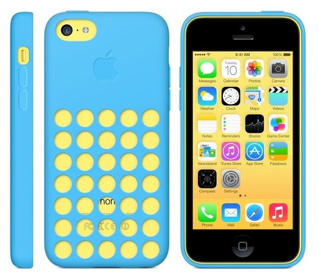 iPhone 5cの純正ケース