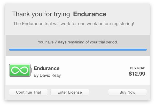 Endurance-Beta-Price