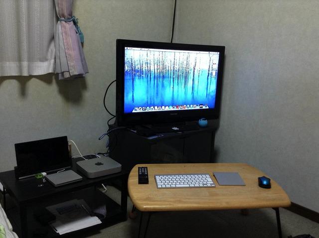 Mac miniをテレビで使う