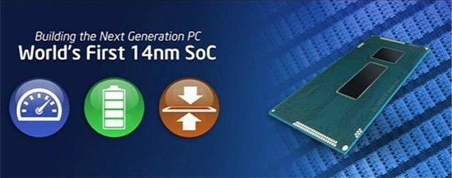 Intel 14nmSoC CPU Broadwell Hero
