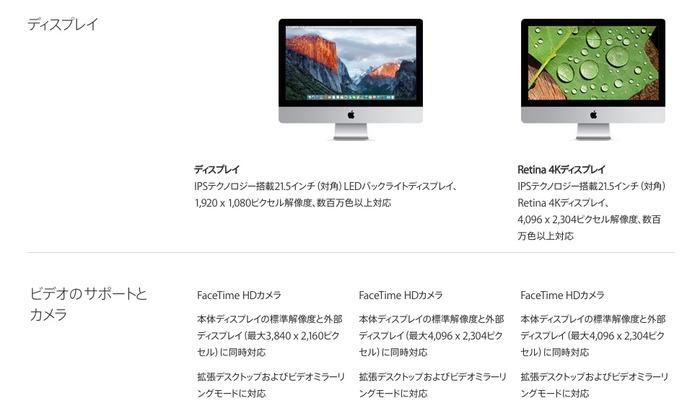 iMac-Late-2015-技術仕様