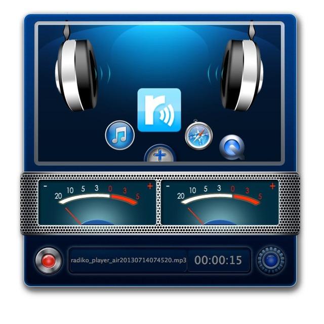 sBlasterはMacのシステム音、アプリの音声録音アプリ