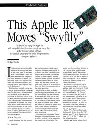 SwyftCard紹介記事Apple II Review誌1986年春号0001