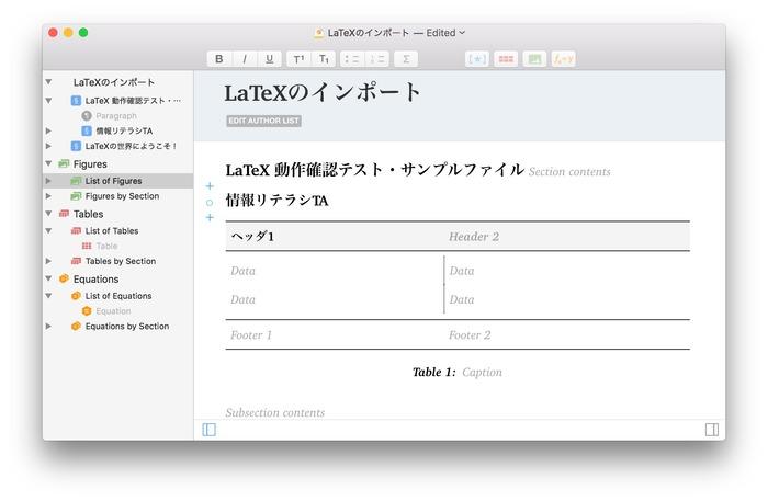 Manuscripts-LaTeX-Import