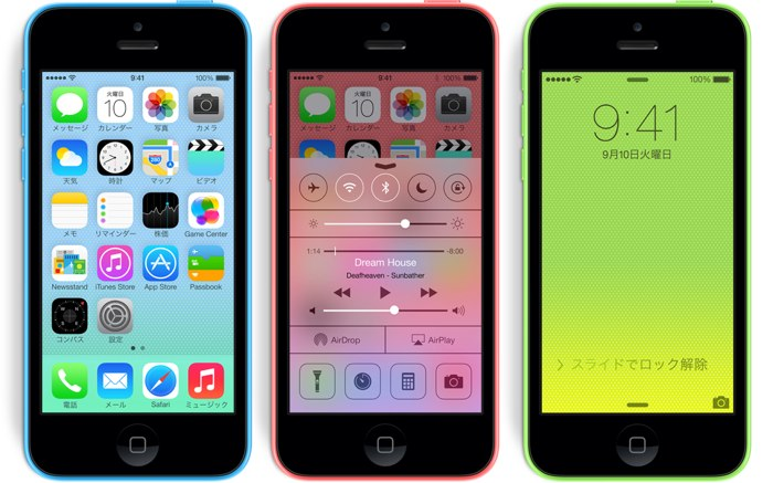 iPhone5c Hero