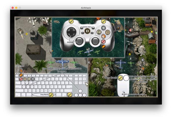 AirAttack-Gamepad