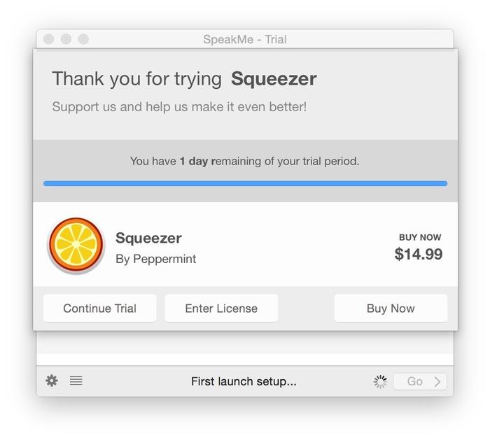 Squeezer-trial