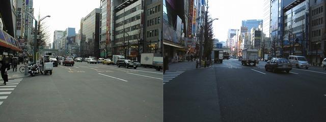 1998年2月ミナミ電気館、日通本社ビル、角田がソフマップじゃなくて青みがない