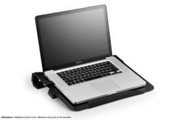 Cooler Master NOTEPAL U3 PLUS BLACK トリプルファン搭載アルミ製ノートパソコン用クーラー HS1066 R9-NBC-U3PKJ-GP
