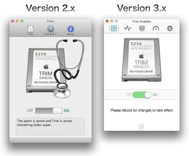Trim Enabler Version 2とフラットデザインの3