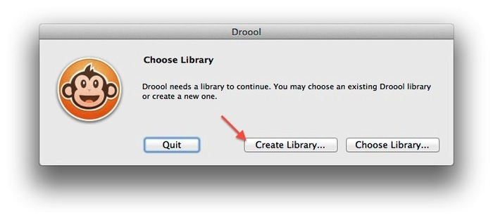 Droool-Create-Library