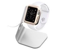 Apple Watch スタンド, Spigen® [充電 クレードル ドック] アップル ウォッチ 38mm / 42mm 対応 アルミニウム製 スタンド S330【国内正規品】(2015) (S330 【SGP11555】)