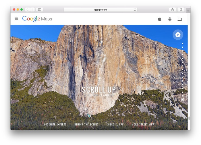 Google-Map-Vertical-Street-View-El-Capitan