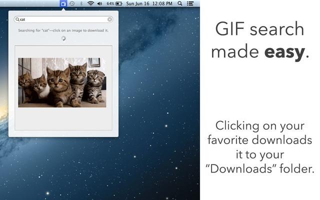 GIFsはGIPHYにアップロードされたGIFアニメを検索閲覧