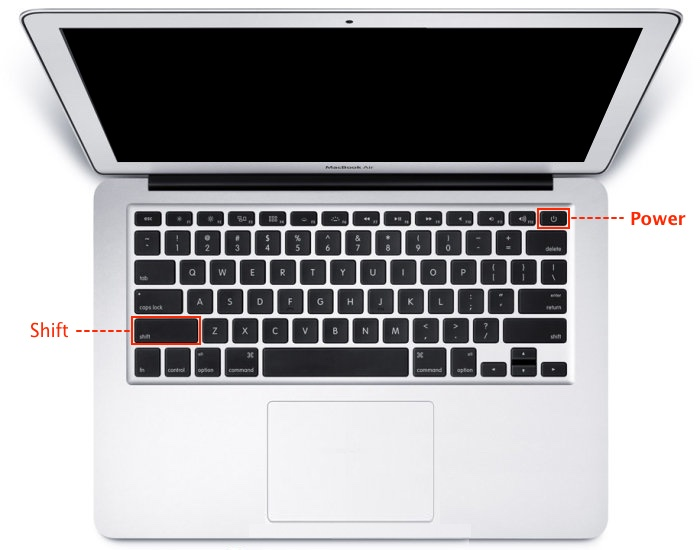 MacBook-SafeMode-Key