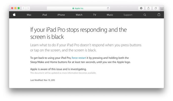 iPad-Pro-stop-responding