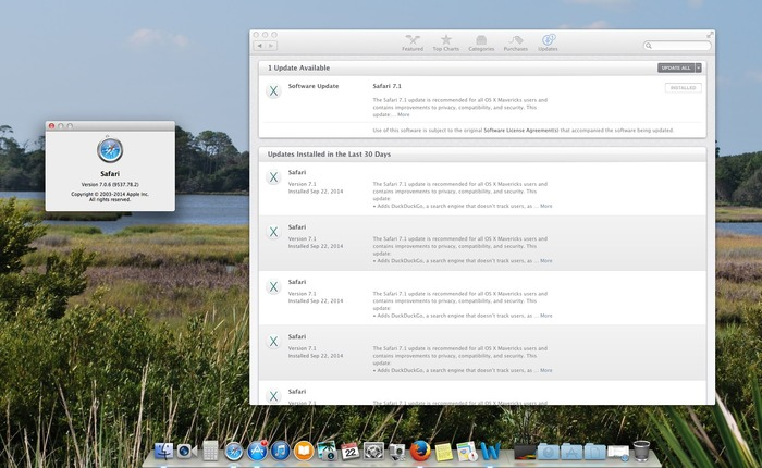 Safari-7-1-MacAppStore-Update-issue