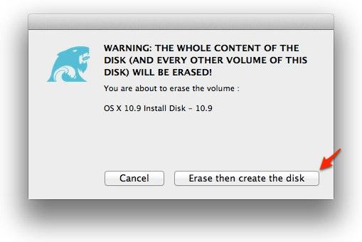 5-初期化してインストールディスクを作成を選択