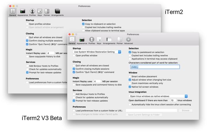 iTerm2-v2-and-v3-Flat