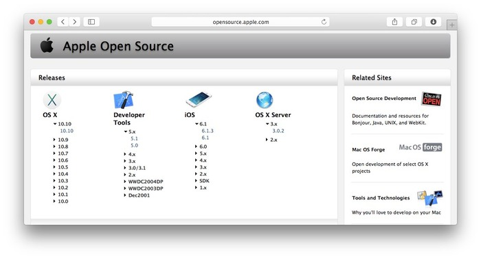 Apple-Open-Source-Yosemite