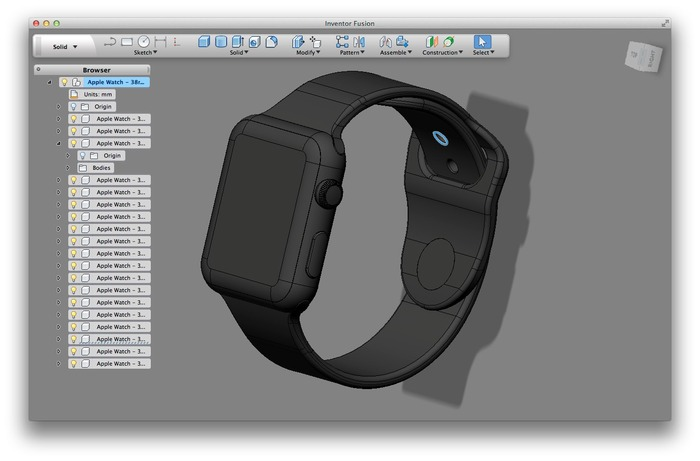 Inventor-Fusion-Apple-Watch-3D-Data